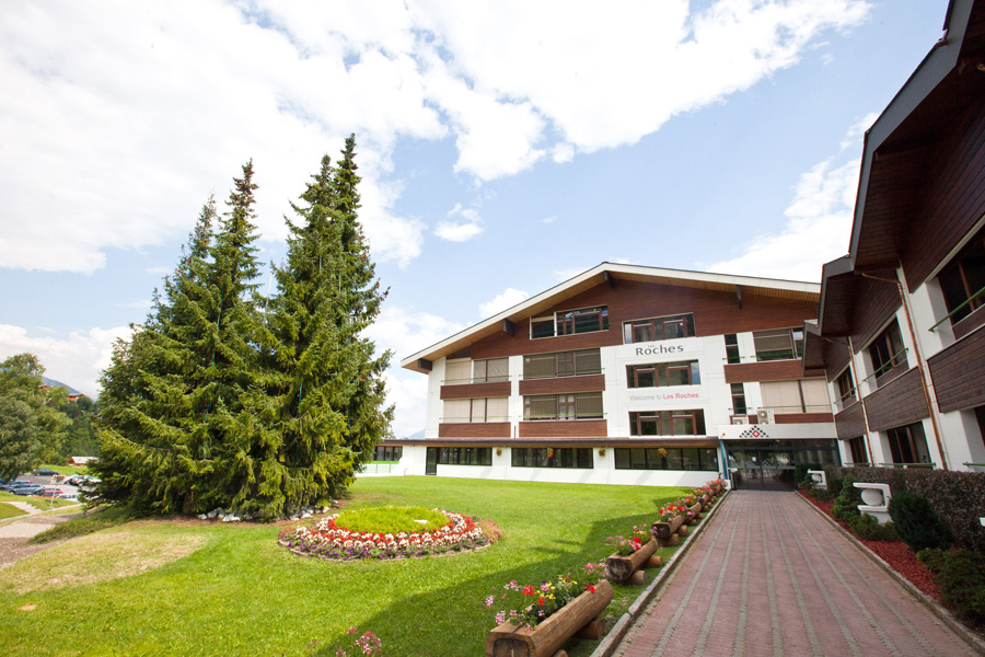 Les Roches Bluche School of Hotel Management - Campus in Switzerland