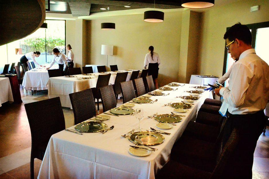 Les Roches Marbella Students Restaurant