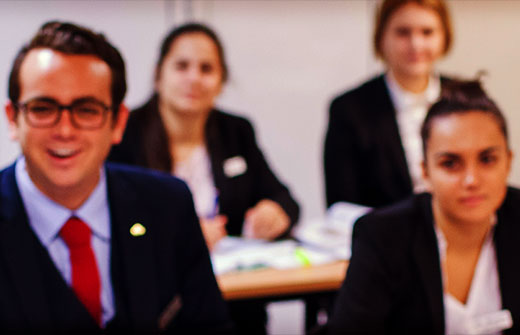 BBA in International Hotel Management - Les Roches Students
