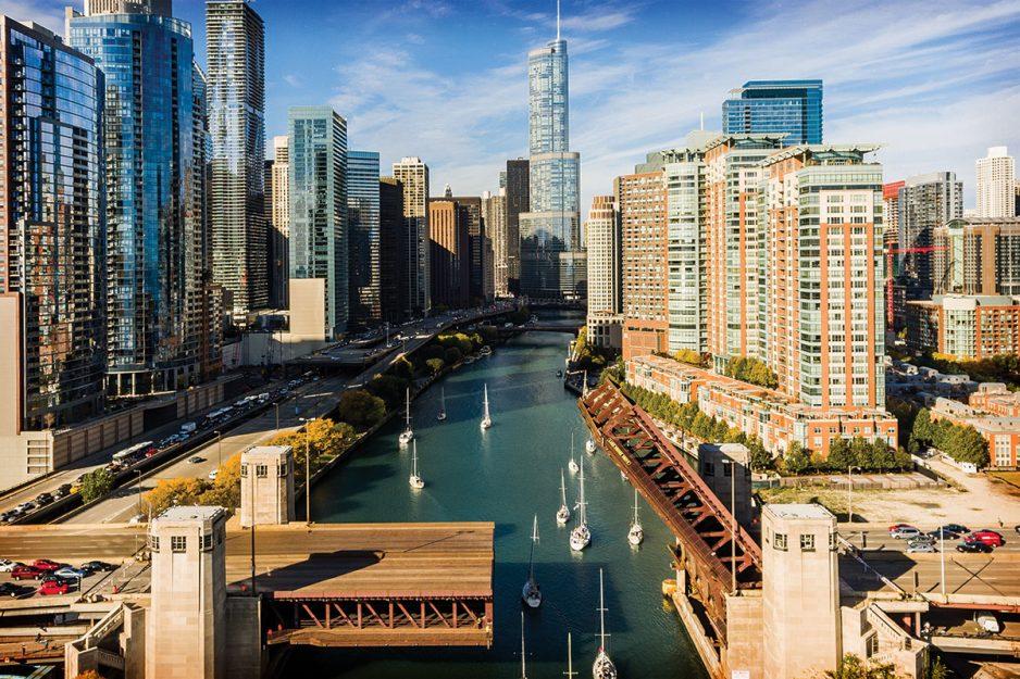 Les Roches Estados Unidos, Chicago