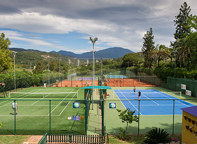 Les Roches Marbella tennis Courts