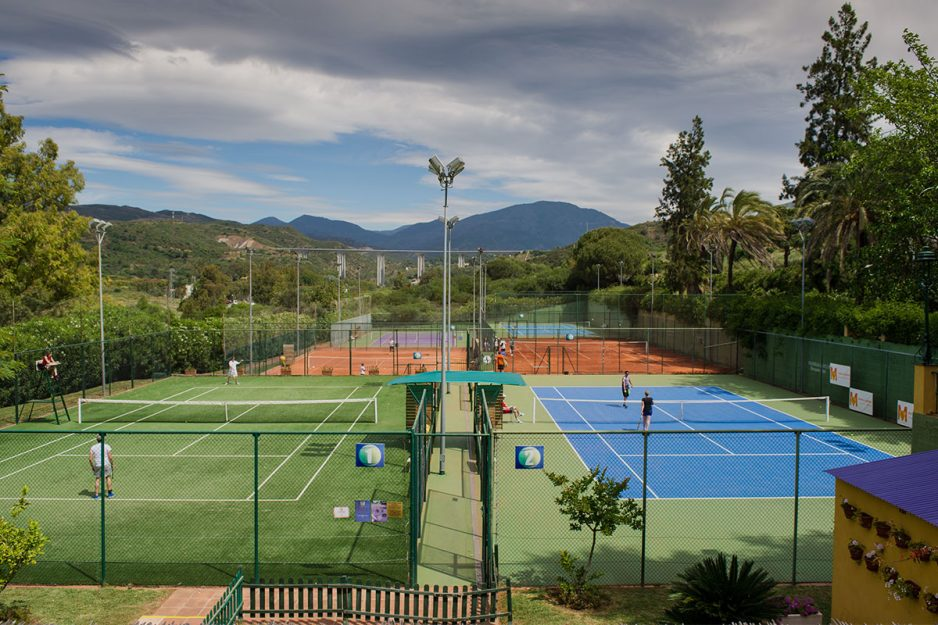 Pistas de Tenis Manolo Santana