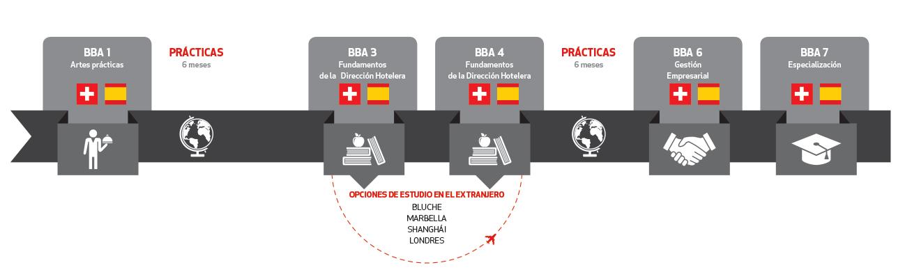 BBA Dirección Hotelera programa