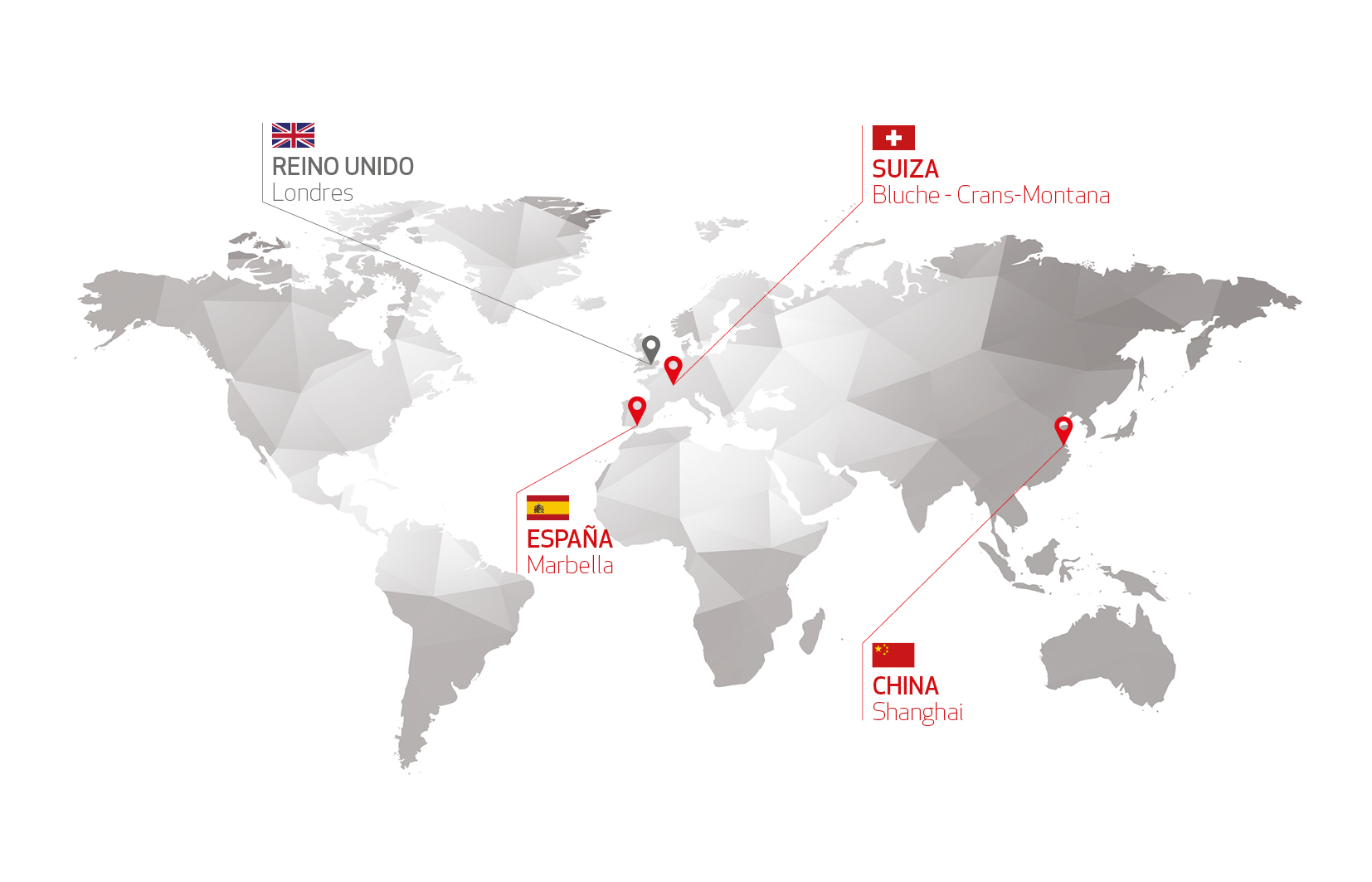 Les Roches Mapa Global