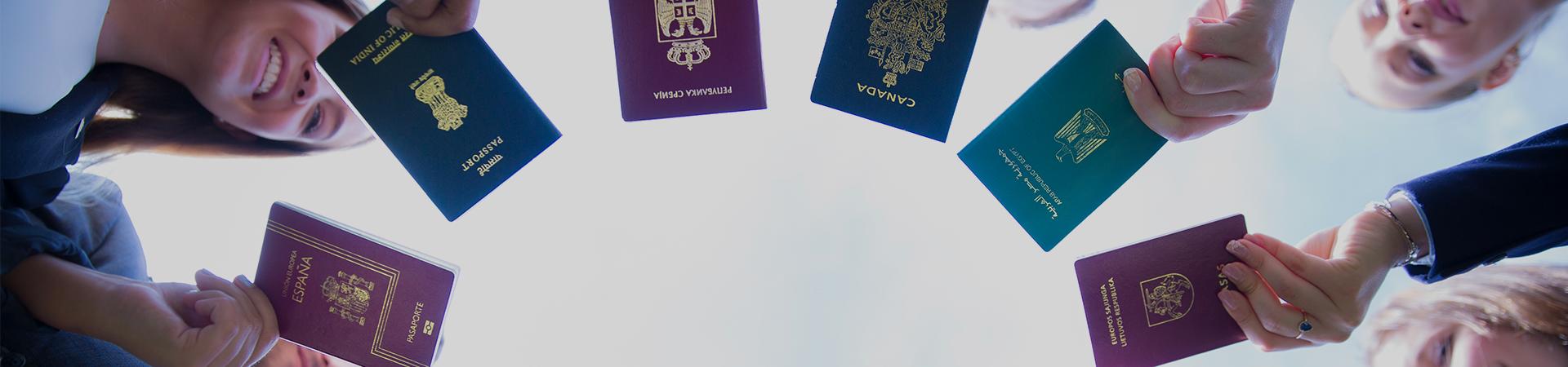 Información de como obtener visados